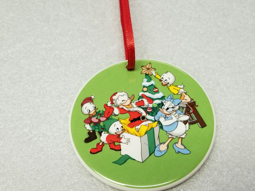 """'Tis The Season """"Celebrating Donald Duck's 50th Birthday"""" Ornament by Grolier Collectibles"""
