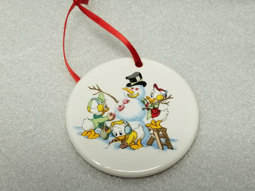 """'Tis The Season """"Holiday Snowman"""" Ornament by Grolier Collectibles"""