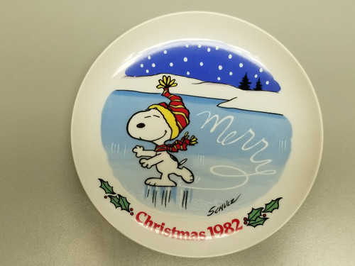 """PEANUTS by Charles M. Schulz """"Christmas 1982"""""""