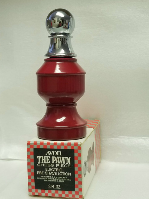 AVON - The Pawn Chess Piece (Red)