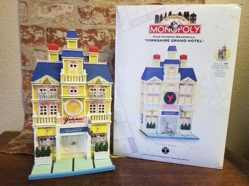 "Four Hundred Boardwalk ""Yorkshire Grand Hotel"" Monopoly/Department 56"