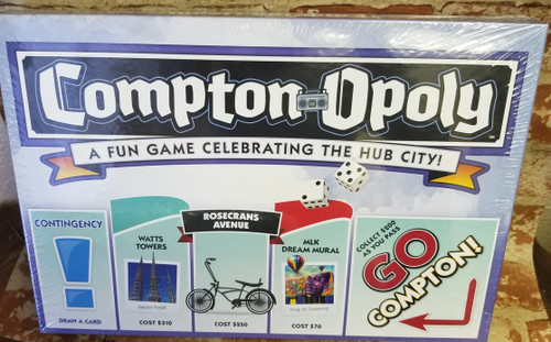 Compton-Opoly  New (SEALED)