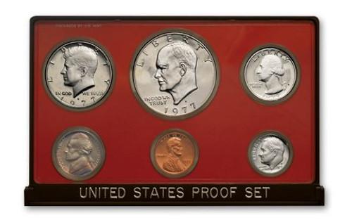 United States Proof Set - 1977