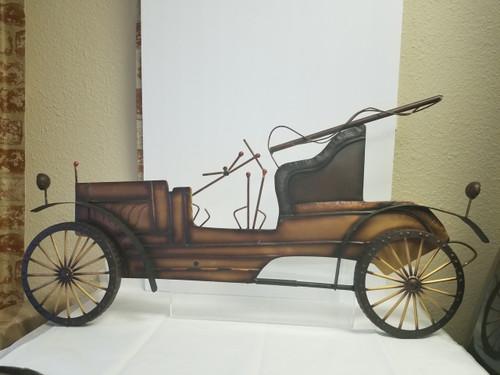 Old Model Car Metal Wall Decor