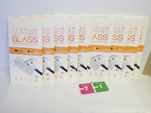 10 PACK - Premium Tempered GLASS Screen Protector Film (6+)