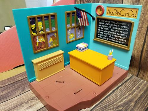 World of Springfield by Playmates Skinner Classroom Scene