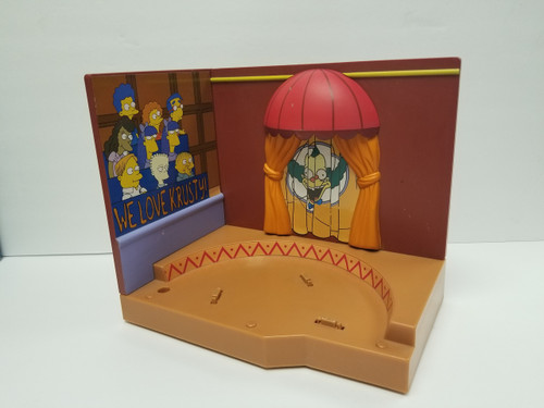 World of Springfield Krusty Studios Stage