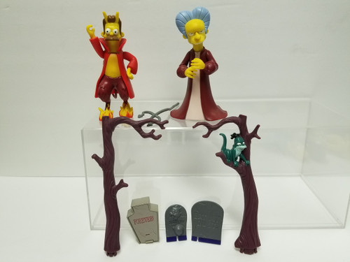 World of Springfield by Playmates Treehouse of Horror Figurines & Accessories