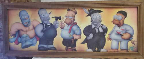5 Shades of HOMER Artwork by Martin Lopez