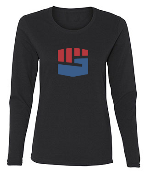 THE WOMEN'S LOGO LONG-SLEEVE TEE