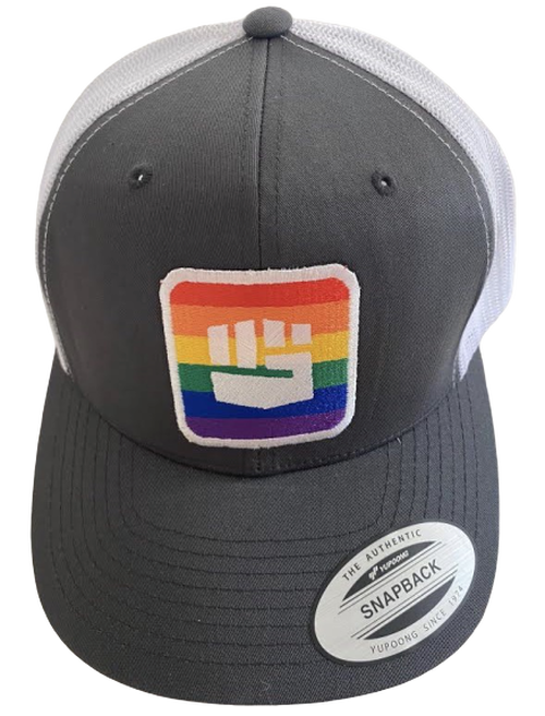 THE PRIDE TRUCKER HAT