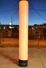 Orange Led Pillar