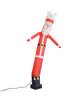 Santa Claus shaped and themed 6ft air dancer
