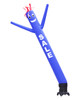 Blue SALE 10ft tall Air Dancer attachment by Go Big Advertising