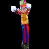 20ft Clown Air Dancer | Inflatable Tube Dancers | Tube Man | Wavy Guy - Free Shipping