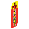 If your business wants to market that it speaks spanish, the 5 ft Se Habla Espanol