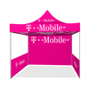 T-Mobile - 10ft x 10ft Pop Up Tent Canopy Complete Set Pink with walls
