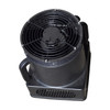"""Weather-Resistant Blower  Number of speeds: 1 Blower horsepower: 1/4hp Power: 115v/60hz. Amps: 1.67   CFM: 980 Diameter of blower: 9 inches 173"""" Long power cord"""