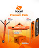 Boost Mobile Premium Package Outdoor Advertising and Inflatable Products
