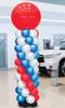 Indoor Balloon Tower Kit 9ft Display