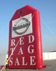 20ft Red Tag Sale Balloon