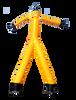 Two Legged Yellow Air Dancer