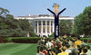 DONALD TRUMP 6FT AIR DANCER AT WHITE HOUSE