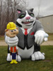 15ft Big Boss Cat Balloon
