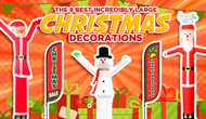 INCREDIBLY LARGE CHRISTMAS DECORATIONS YOU'LL WANT THIS HOLIDAY SEASON