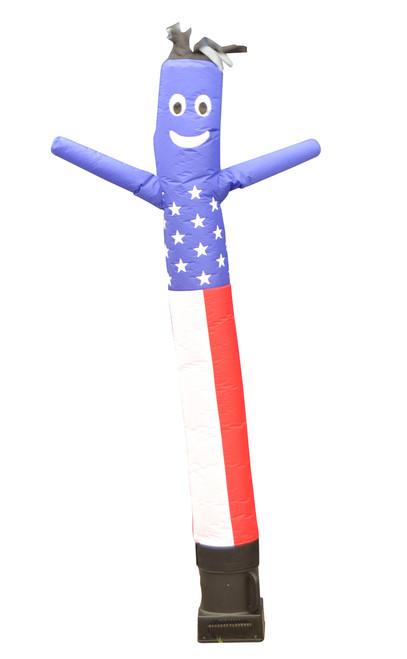 American Red Whit Blue Air Dancer