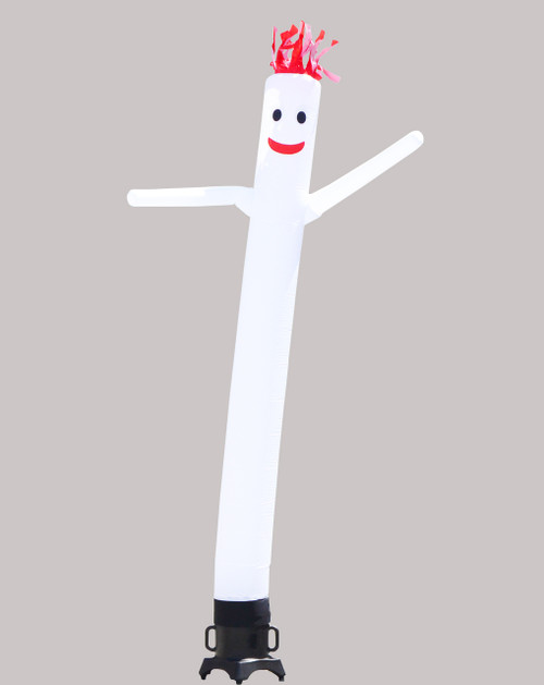 White Inflatable Air Dancer 10ft tall