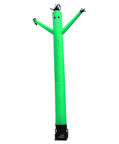 Green air dancer inflatable advertising product.  Be a part of the largest brand of air dancer inflatable advertising products in the US