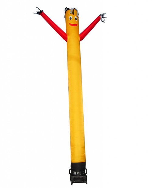 20ft Yellow with Red Arms Air Dancer