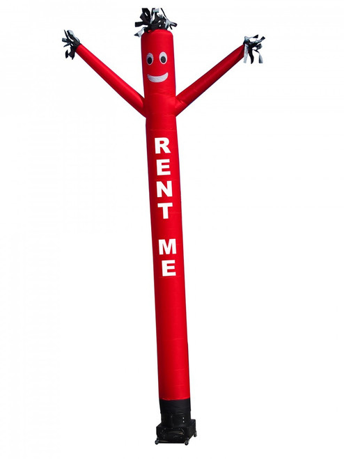 20ft (RENT ME) Red Air Dancer