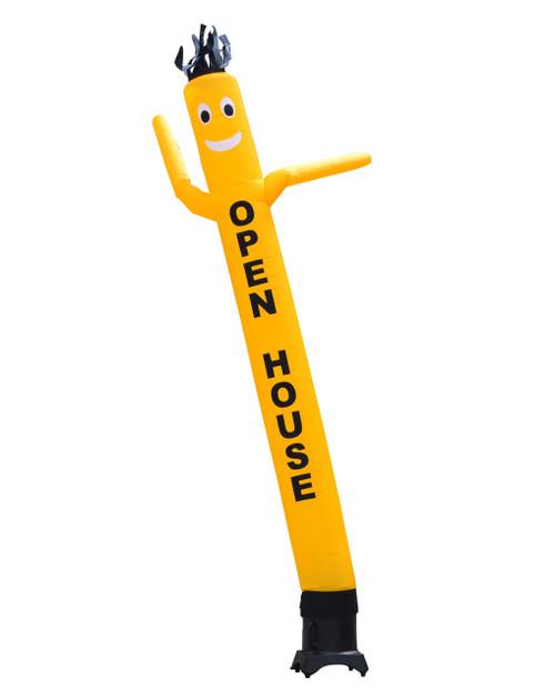 Yellow OPEN HOUSE 10ft Air Dancer