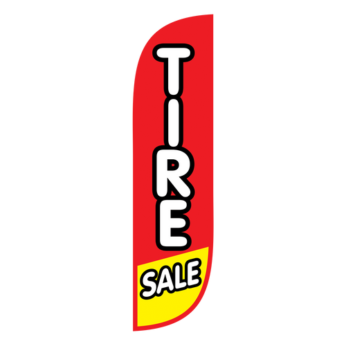 5ft Feather Flag Tire Sale