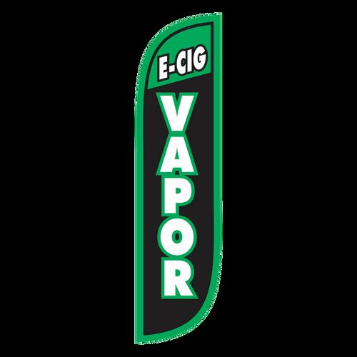 E-Cig Vapor 5ft Feather Flag