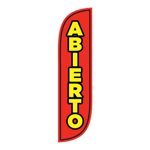 Are you Abierto (or open) Flag
