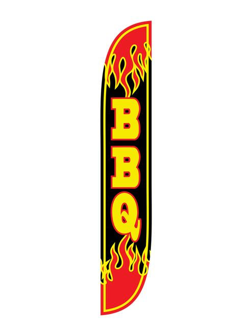 12ft BBQ Feather Flag