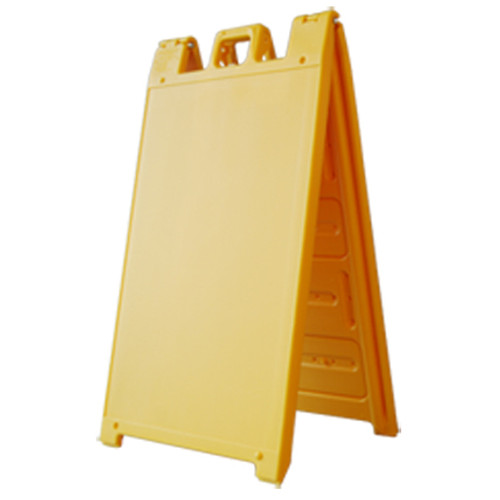 Yellow Plastic A-Frame