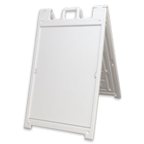 White Deluxe Plastic A-Frame