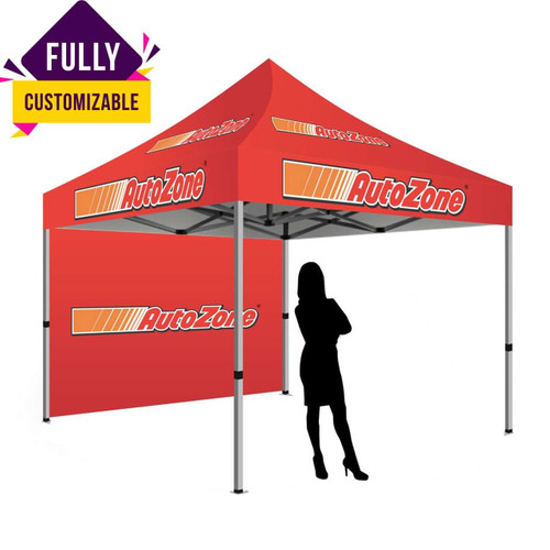 CUSTOM CANOPY TENT EVERYDAY SILVER PACKAGE