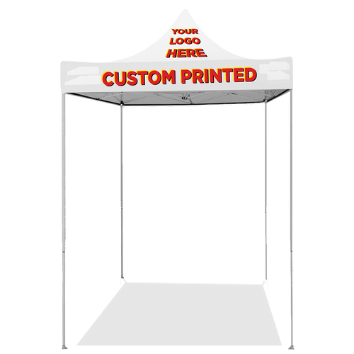 Custom Pop Up Tent Canopy 5ft x 5ft
