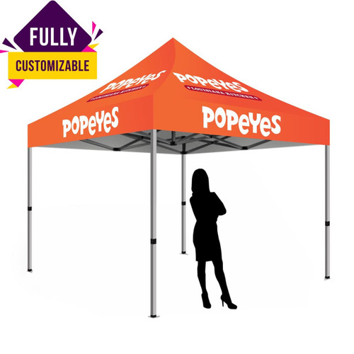Custom 10ft x 10ft Pop Up Tent Canopy Top