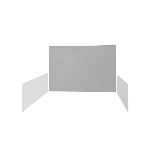 Plain White - Back Walls & Side Walls - 10'x10'