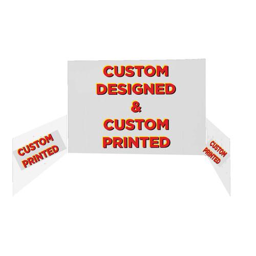 Custom - Back Walls & Side Walls - 10'x10'