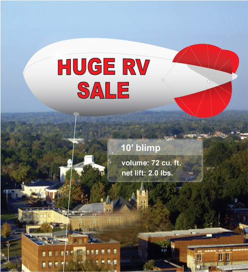 Advertising Blimp  10ft