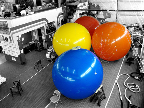 Custom 7ft Balls with Artwork 2 Sides