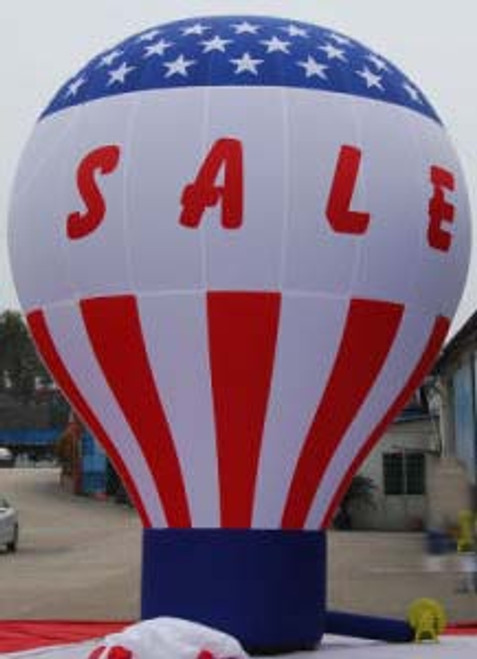 20ft Hot Air Balloon Shape R/W/B