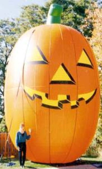20ft Tall Pumpkin Balloon